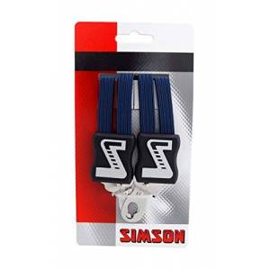 SimSon & Co.  Bicycle Accessories Lashing Strap Luggage Fastening Easy Installation Navy