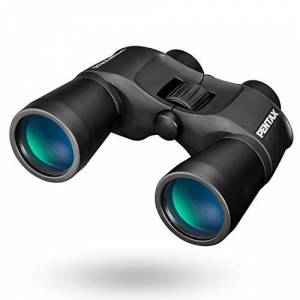 Pentax SP 16x50 Vision Porro Prizm Binocular with Bak4 Prism, Fully Multi-Coated Optics Large Objective Lens Contrast-Rich, Bright Viewing Aluminium-Dicast Body Rubber Coated Body