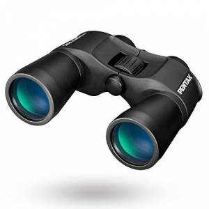 Pentax SP 12x50 Exceptional Vision Quality Porro Prizm Binocular with Bak4 Prism, Fully Multi-Coated Optics Large Objective Lens Contrast-Rich, Bright Viewing Aluminium-Dicast Body Rubber Coated Body