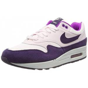 Nike Women's WMNS Air Max 1 Running Shoes, Pink (Lt Soft Pink/Grand Purple-Hyper Violet-Summit White 610), 6.5 UK