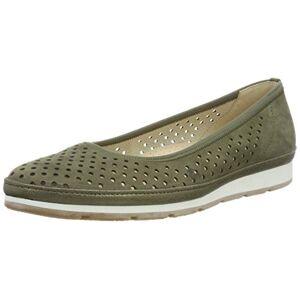 Gabor Shoes Women's Comfort Sports' Ballet Flats, Green (Salvia (Silk/Gel.) 30) 9 UK
