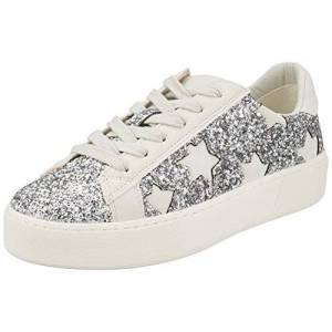 Buffalo Ch 459c-34 P2149f P2078x, Women's Low-Top Sneakers, Silver, 6 UK (39 EU)