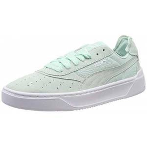 Puma Unisex Adults' Cali-0 Summer Low-Top Sneakers, Blue (Fair Aqua White), 7 UK