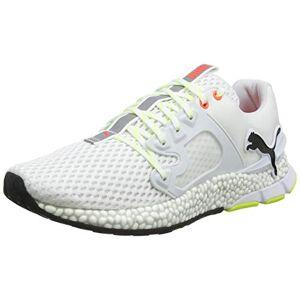 Puma Men's Hybrid Sky Running Shoes, White Black-Nrgy Red, 7.5 UK 41 EU