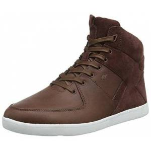Boxfresh Mens Hi-Top Trainers Brown Size: 11 UK
