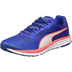 Puma Men's Speed 500 Ignite Running Shoes, (True Blue-Bright Plasma White 05), 9 UK