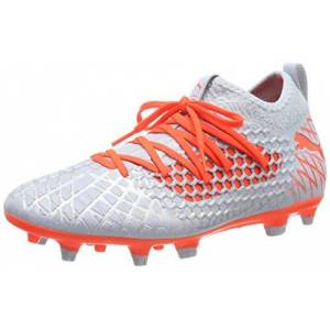 Puma Men's Future 4.3 Netfit FG/AG Football Boots, Glacial Blue-Nrgy Red, 9.5 UK 44 EU