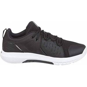 Under Armour Men's Charged Commit TR 2.0 Fitness Shoes, Black (Black/White/White (001) 001), 8 UK 42.5 EU