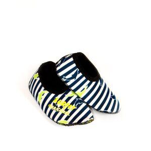 Jakabel Surfit Boy's Swim Neoprene Shoes - Navy Stripe, Size 1