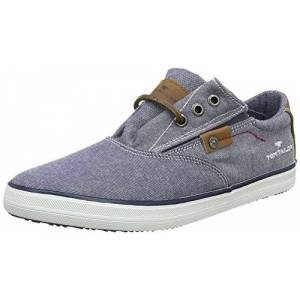 Tom Tailor Boys' 4870105 Trainers, Blue 6 UK