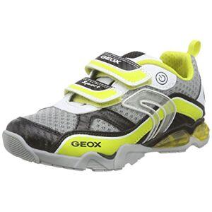 Geox Boys' J Light Eclipse 2 BO Low-Top Sneakers Multicolour Size: 7.5 UK