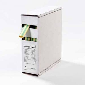 ABB Stotz S & J T & B-Pipe of mms of Green/Yellow gys187-ed (ve9,5m) 4.8/0.25mm L = 9.5M shrink-kon Tube Retractable