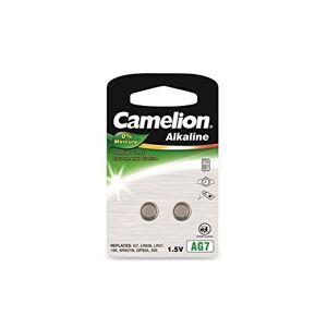 Camelion 120 50207 AG 7 LR57 Battery - Multicolour (Pack of 2)