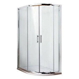 NIKO Premier Pacific Offset Quadrant Shower Enclosure 1200 x 800mm AQU128