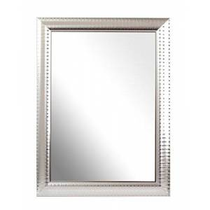 Inov8 Framing Inov8 British Made Traditional Mirror, Ripple Silver, A4, 1PK