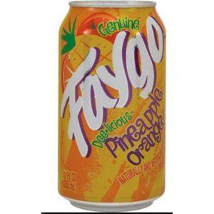 Faygo Pineapple Orange Soda in Can 355 ml