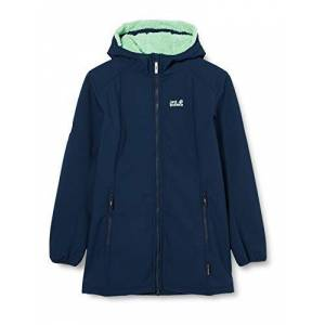 Jack Wolfskin Kid's Kissekat jacket Girls, Midnight Blue, 164