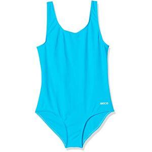 Beco Girls' Badeanzug-6850 Swimsuit, Turquoise, 92 (EU)