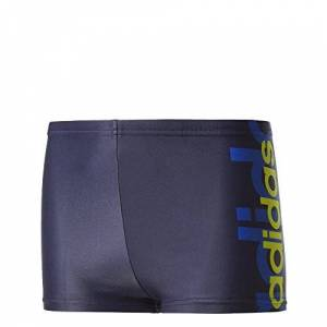 adidas Boys' Inf Ecad Bx Y Swimsuit, Blue/Tinley/Reauni, Size 98