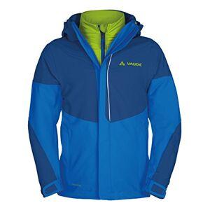 VAUDE Suricate Children's Double Jacket 3in 1Jacket Double Layered, Children's, Doppeljacke Suricate 3-in-1 Jacket II, hydro blue/Green, S