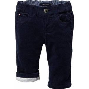 Tommy Hilfiger Ribcord Baby Boy Pants (Core Navy, 6-9 Months)