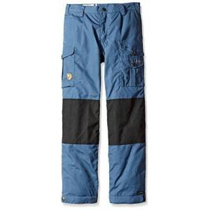 Fjällräven Unisex Children's Kids Vidda Padded Trousers, Blue (Uncle Blue), 122