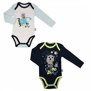 Petit Béguin Set of 27pk Baby Boys Long-Sleeved Cosmo Party Size 9Months (74cm)