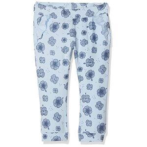 Name It Baby Girls' Nbffanoria SWE Pant Unb Trouser, (Cashmere Blue), 36 (Size: 80)