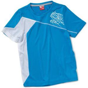 Puma USP Boys' T-Shirt blue blue danube-white Size:140