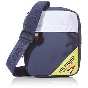 Tommy Hilfiger Kids Square Reporter Sailing, Unisex Kids' Backpack, Blue (Corporate/Fluro), 1x1x1 cm (W x H L)