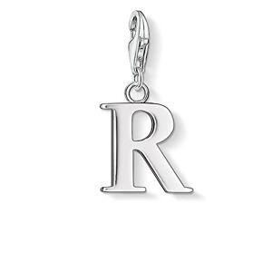 Thomas Sabo Women-Charm Pendant Letter R Charm Club 925 Sterling Silver 0192-001-12