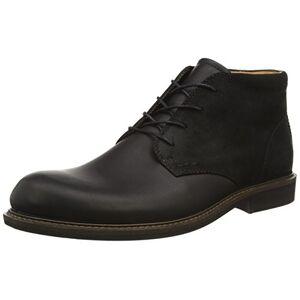 ECCO Findlay, Men's Chukka Ankle Boots, Black (Black/Black), 10 UK (44 EU)