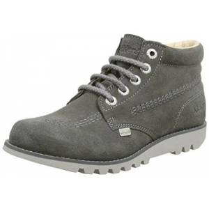 Kickers Women's Kick Hi C Ankle Boots, Grey (Grey), 3 UK 36 EU