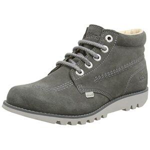 Kickers Women's Kick Hi C Ankle Boots, Grey (Grey), 3 UK 36 EU