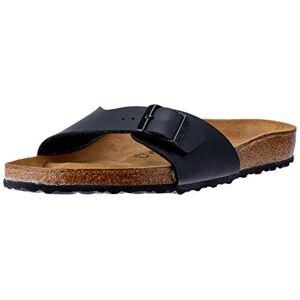 Birkenstock MADRID Birko-Flor, Men's Sandals, Black (Black), 7 UK (40 EU)