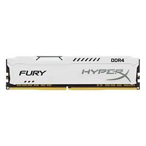 HyperX FURY DDR4 8 GB, 3200 MHz CL18 DIMM XMP - HX432C18FW2/8, White