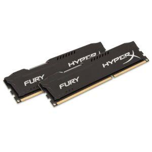 HyperX HX313C9FBK2/16 FURY Black, 16 GB, 1333 MHz DDR3 CL9 DIMM (Kit of 2)