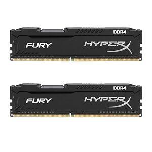 HyperX FURY DDR4 16 GB (Kit 2x8 GB), 2400 MHz CL15 DIMM XMP - HX424C15FB2K2/16, Black