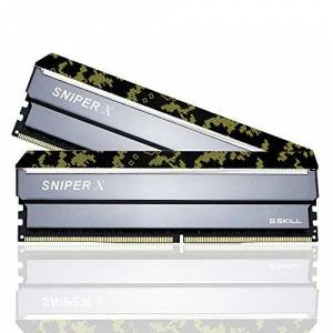 G-Skill Memoire D4 3200 16G(2x8G) *G.SKILL* Sniper X (F4-3200C16D-16GSXKB) *9622