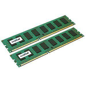 Crucial 32GB (2x 16GB) 240 Pin DDR3L 1333 MTps PC3-10600 QR x4 LRDIMM Memory Module