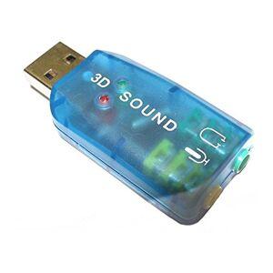 Dynamode USB-SOUNDCARD2.0 USB 2.0 Sound Card