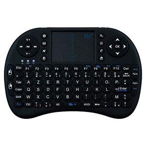 Shot Case Mini Bluetooth Keyboard for Huawei P30 Lite Smartphone Wireless AZERTY Rechargeable (Black)