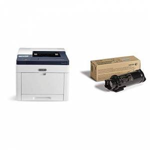 Xerox Phaser 6510dni A4 Colour LED/Laser Printer with Xerox 106R03476 Genuine Standard Capacity Toner Cartridge