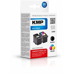 KMP C95 V Cartridge Replaces Canon PG - 540 and CL - 541, 3-Colour-Black