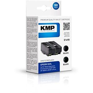 KMP Compatible Epson Expression Premium XP-600, E149D KMP Double Pack-2x Black