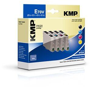 KMP E70V KMP Ink Cartridge Replaces Epson T0441 / T0442 C13T04414010) (C13T04424010 / T0443 / T0444 C13T04434010) (C13T04444010), cyan / magenta / Yellow / Black
