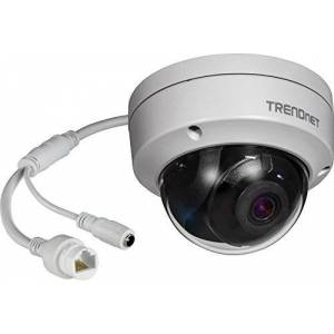 TRENDnet IP317PI 5MP H.265PoE Camera Indoor/Outdoor WDR IR Dome White