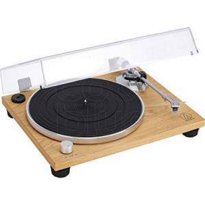 Technica Audio-Technica AT-LPW30TK Turntable with Belt Drive Wood