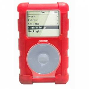 Speck Products ToughSkin for 4G iPods - Red
