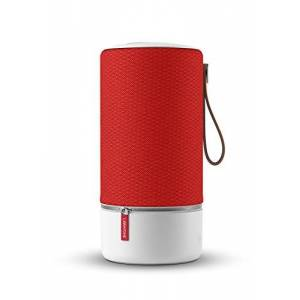 Libratone ZIPP Wireless Speaker (360 ° Sound, Wifi, Bluetooth, MultiRoom, Airplay 2, Spotify Connect, 10 hrs Rechargeable Battery)- Victory Red